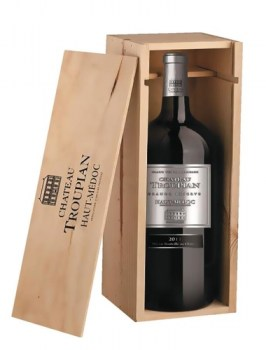 chateau troupian magnum in wooden gift box